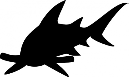 Shark fin outline free clipart images