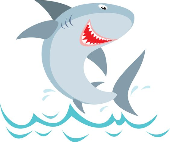 Shark fin sharks clip art