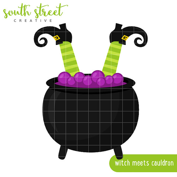 Witch cauldron clipart republique 2