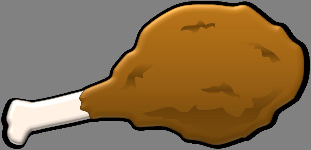 Chicken leg clipart 3