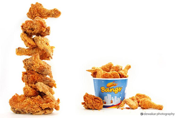 Chicken leg fried chicken clipart 4