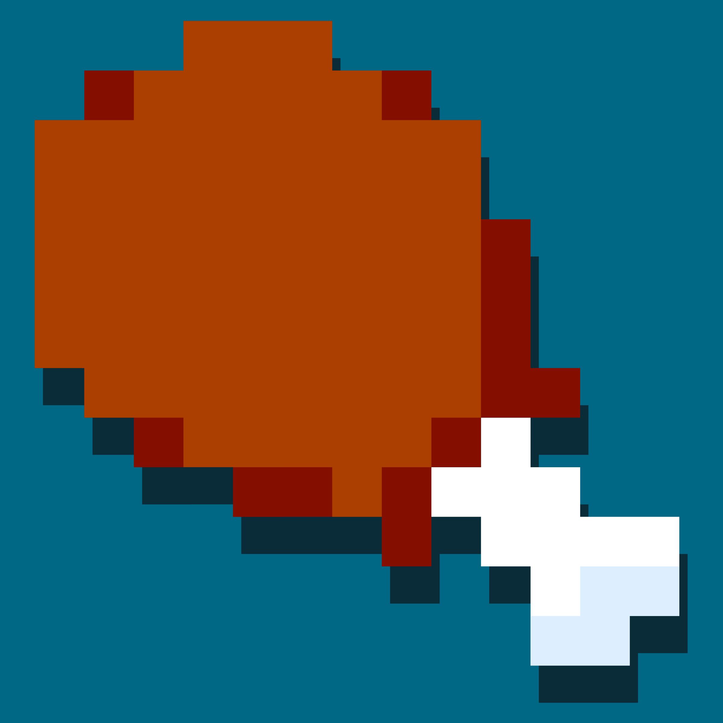 Clipart chicken leg icon