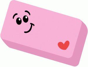 Eraser clip art 3