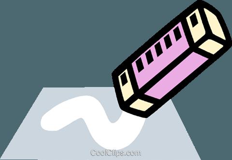 Eraser clipart stationary