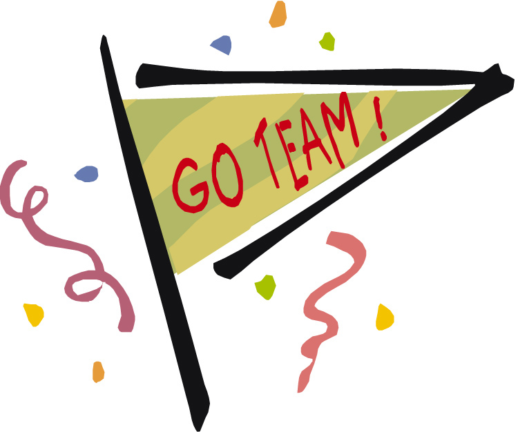Go team are you on the pch blog team clip art