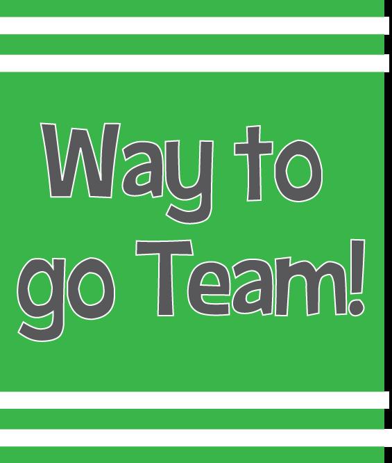 Go team clipart 10