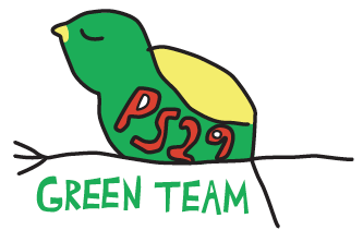 Go team green team clipart