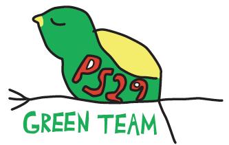 Go team green team clipart