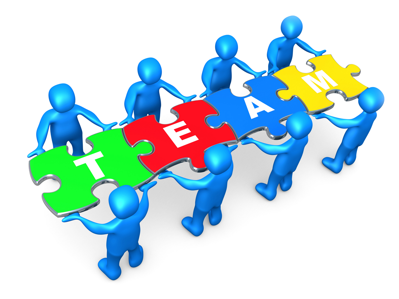 Go team working together as a team free clipart images