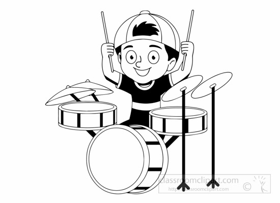 Music  black and white free black and white music outline clipart clip art pictures 4