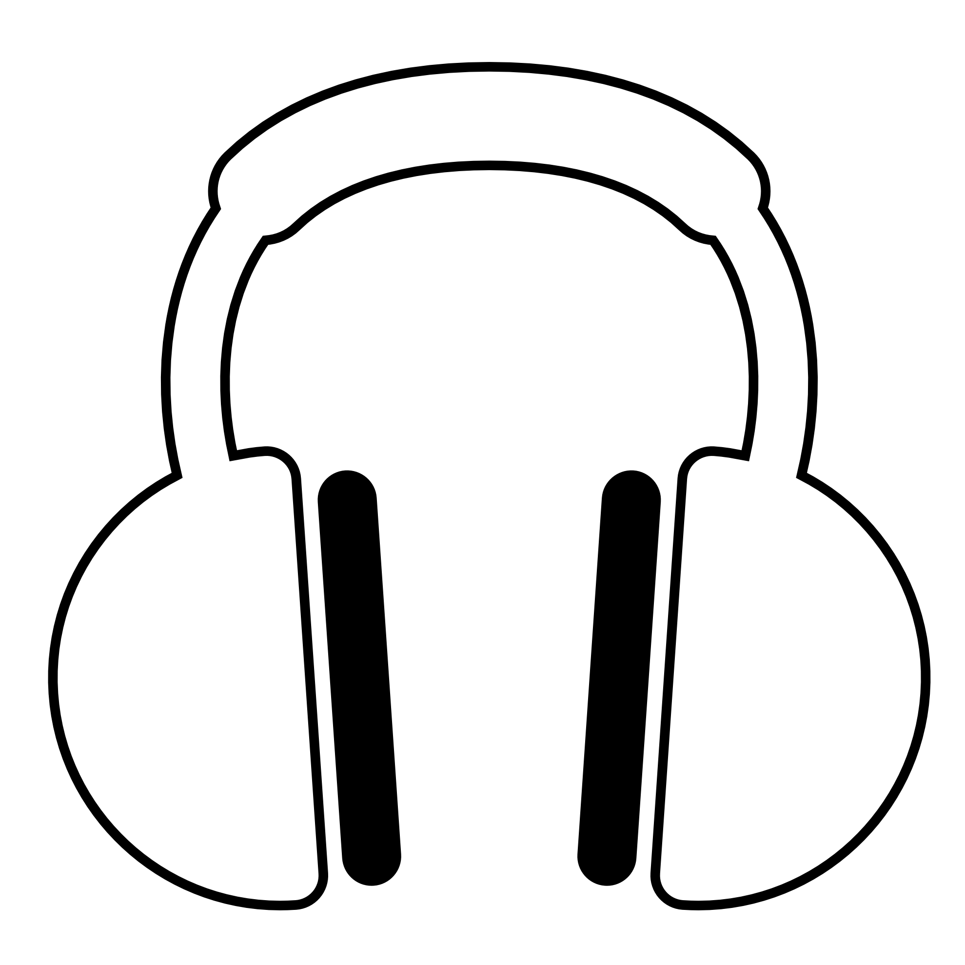 Music  black and white listening to music clipart black and white free 2