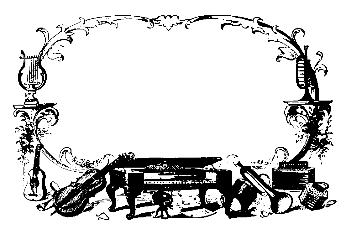 Music  black and white music border music clipart black and white
