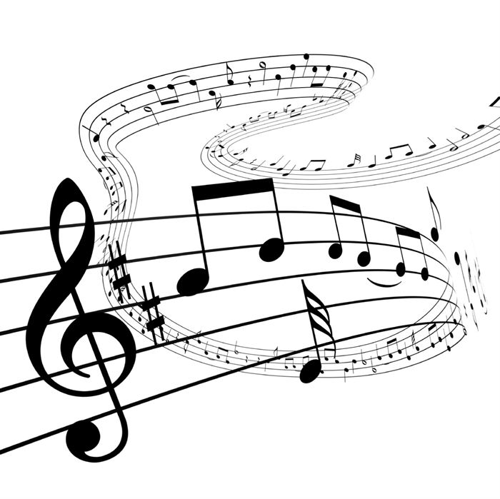 Music  black and white music clip art black and white free clipart images 2