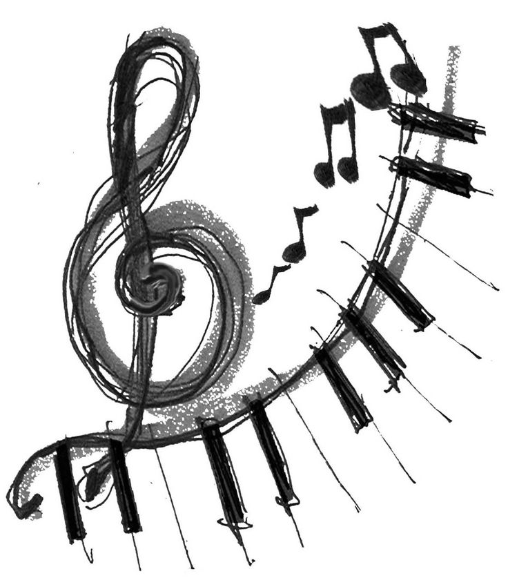 Music  black and white music clip art black and white free clipart images