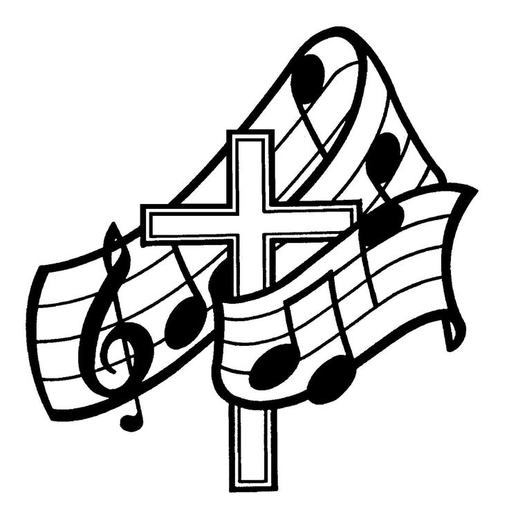Music  black and white music clipart black and white clipart download 3