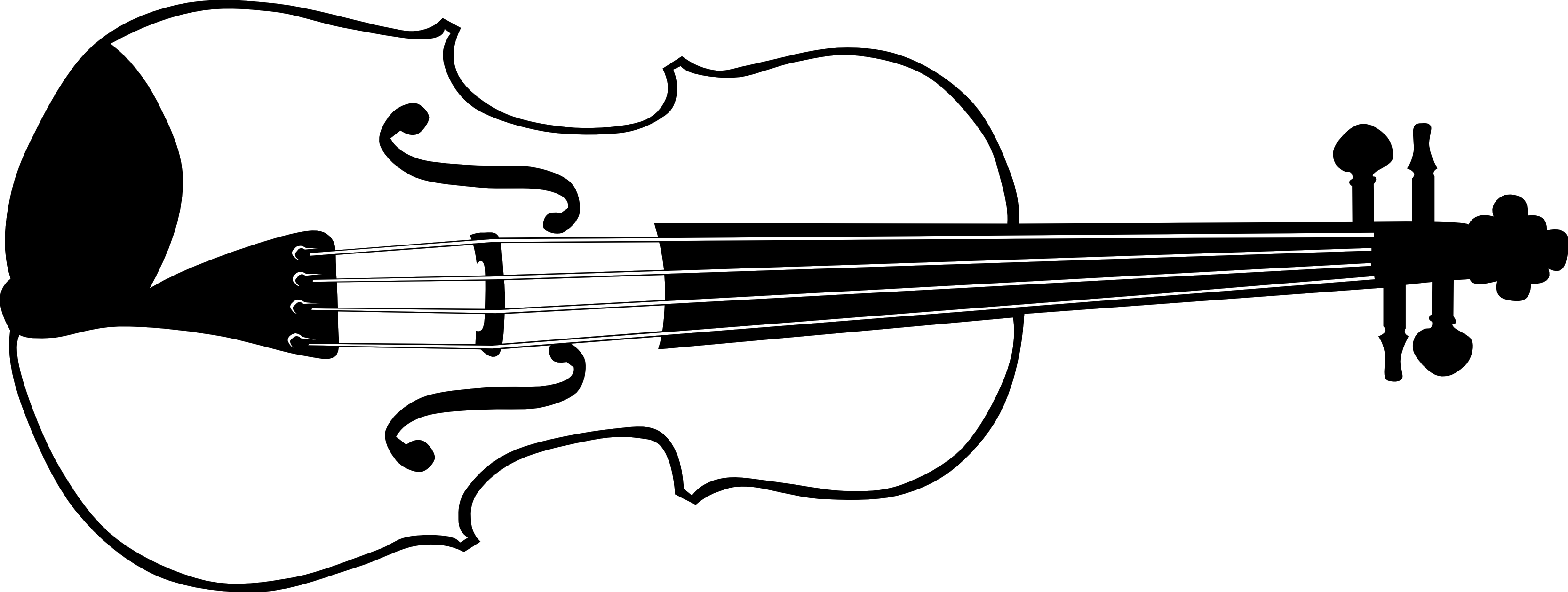 Music  black and white music instrument clipart black and white free