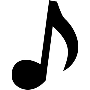 Music  black and white music notes black and white music clipart 2