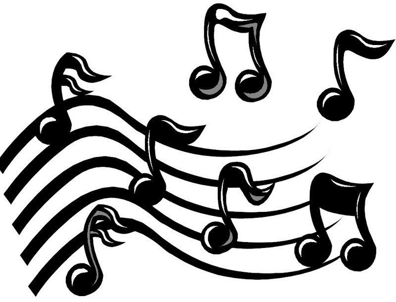 Music  black and white music notes black and white music clipart 3 wikiclipart