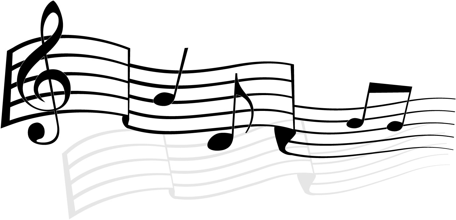 Music  black and white music notes black and white music musical clip art free 5