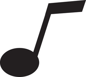 Music  black and white music notes black and white music note clipart 2