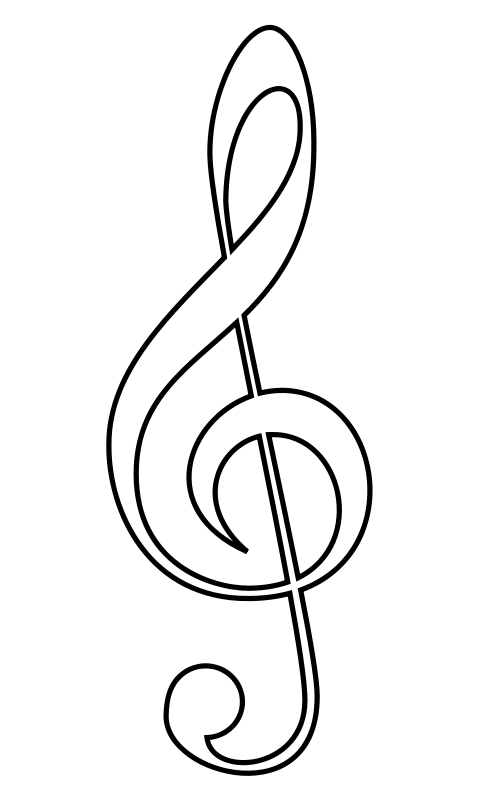 Music  black and white music notes black and white musical music clipart 4