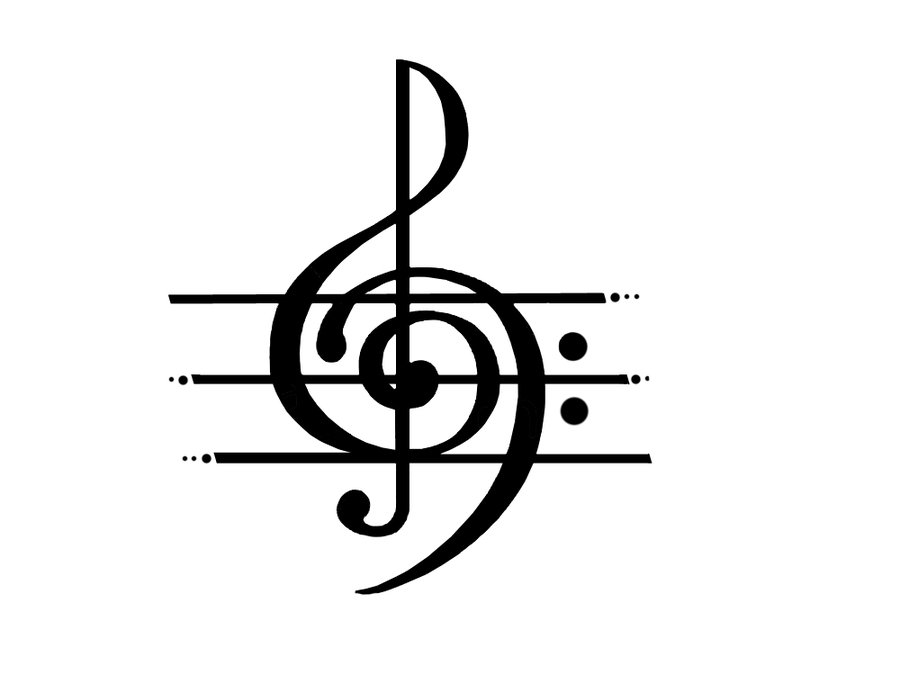 Music  black and white music notes clipart black and white cliparts 2