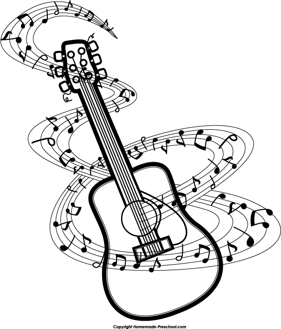 Music  black and white music notes clipart black and white free 2 2
