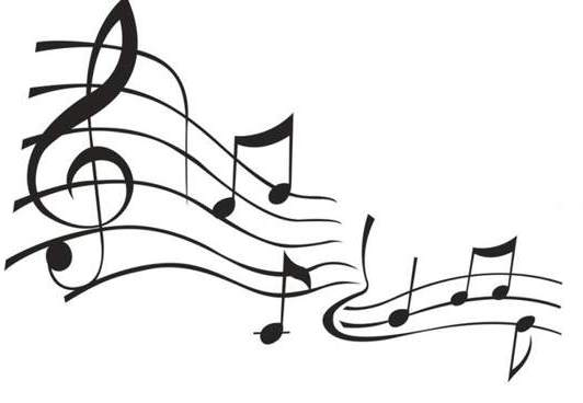 Music  black and white music notes clipart black and white free