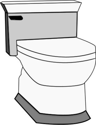 Potty toilet clip art free clipart images