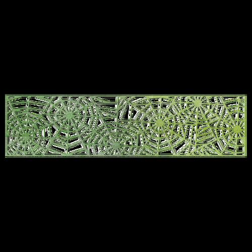 Spider web border cheery lynn designs spider web mesh border die