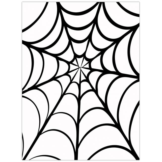 Spider web border clipart free images 12