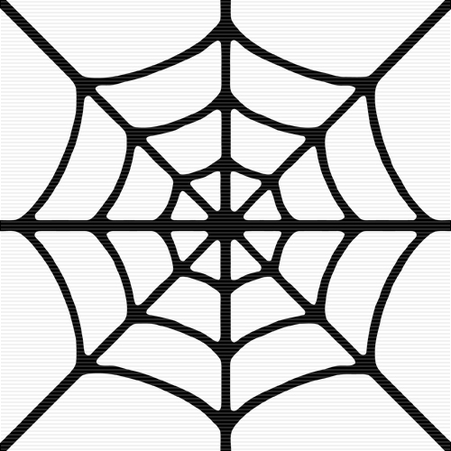 Spider web border clipart free images 2 3