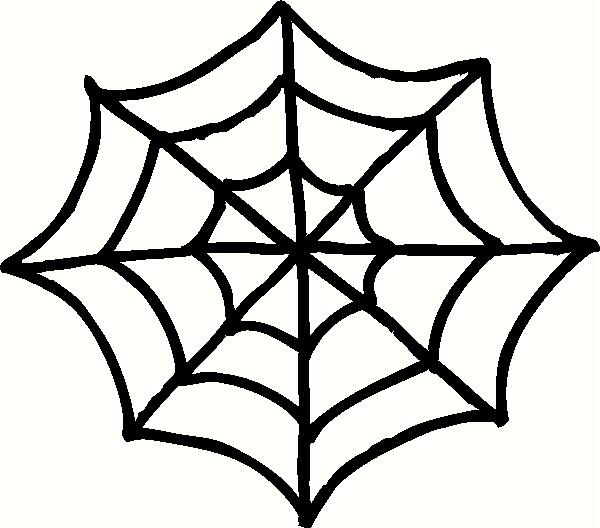 Spider web border clipart free images 5 4