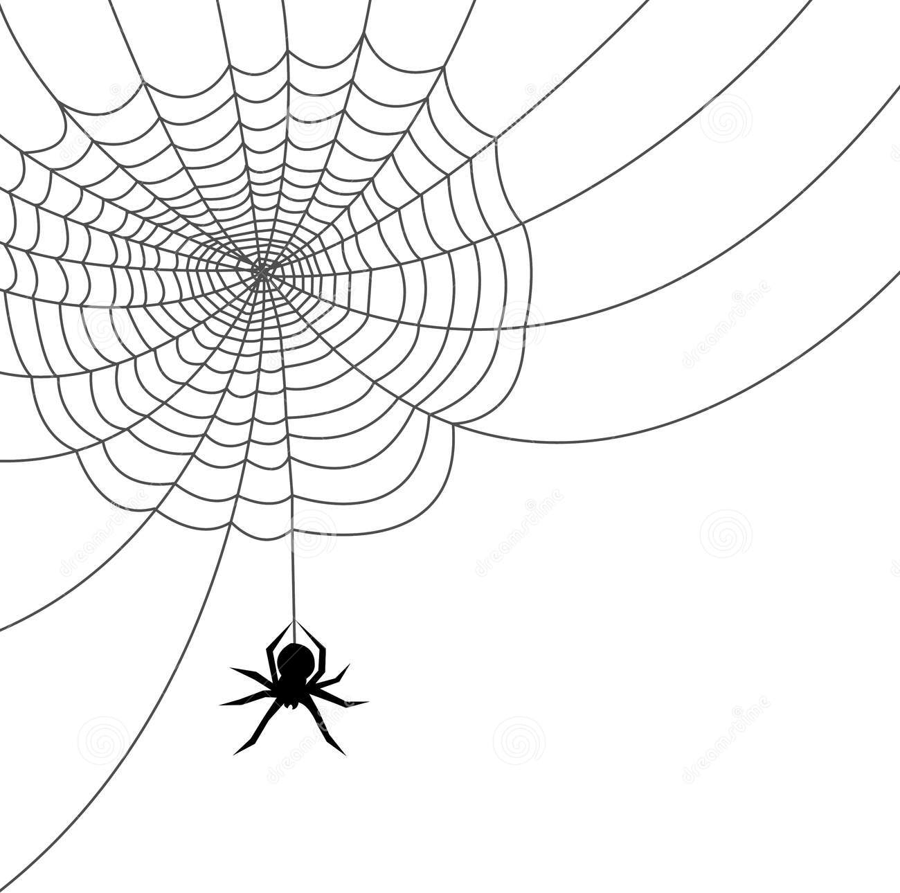 Spider web border clipart free images 6 2
