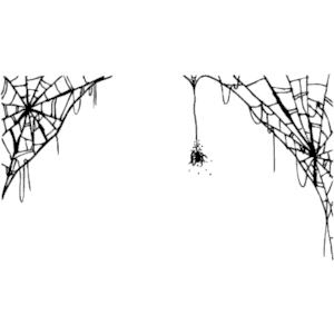 Spider web border clipart free images 6