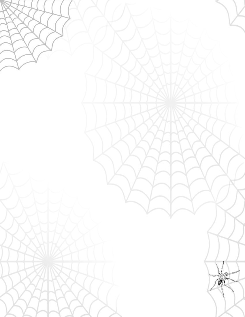 Spider web border spider web clipart 2