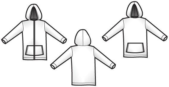 Sweatshirt zipper hoodie clip art download clip arts page 1