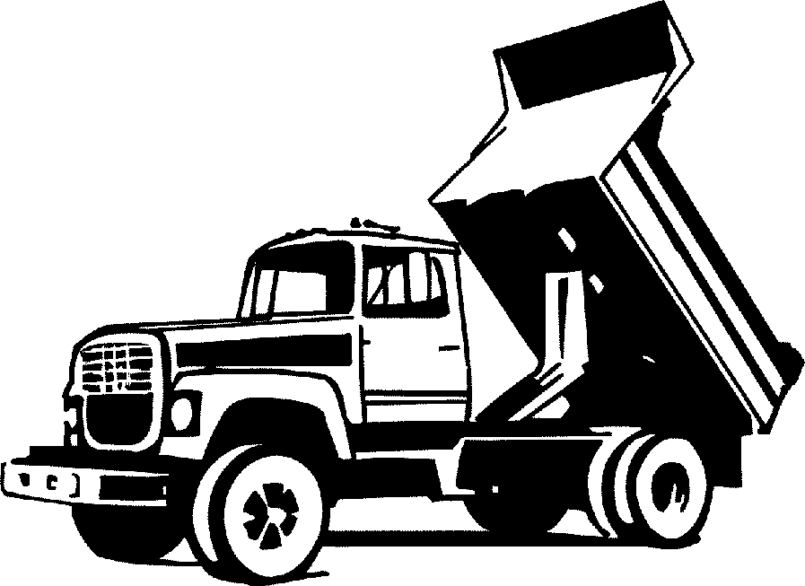 Truck  black and white pickup truck clipart black and white free 4