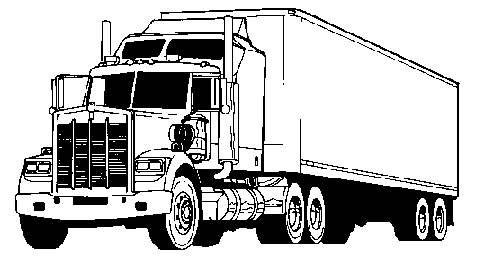 Truck  black and white transport truck cliparts free download clip art