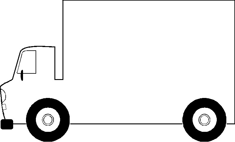 Truck  black and white truck clip art black and white free clipart images