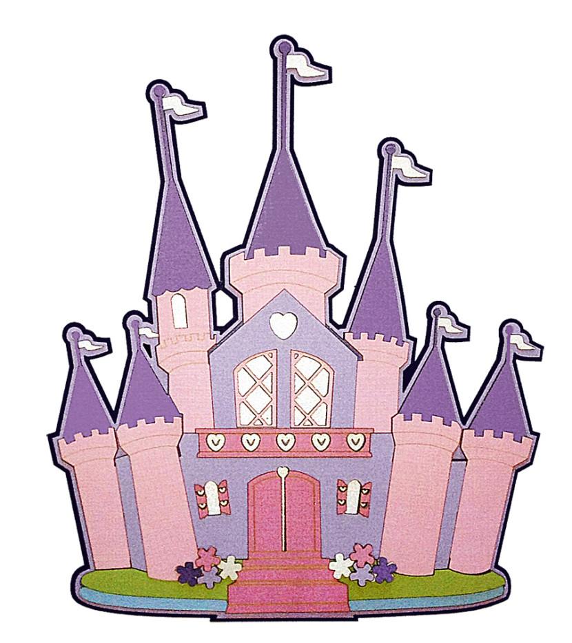 Cinderella castle castle clipart