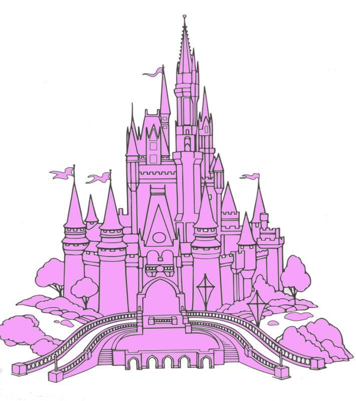 Cinderella castle clip art free clipart images 2 2