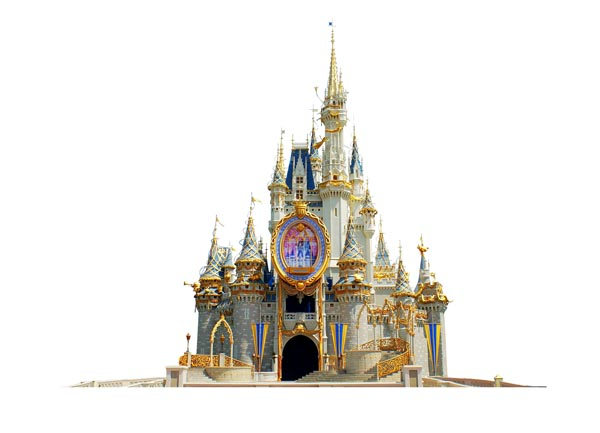 Cinderella castle clipart 2