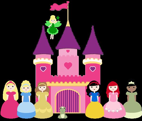 Cinderella castle disney castle clipart 1