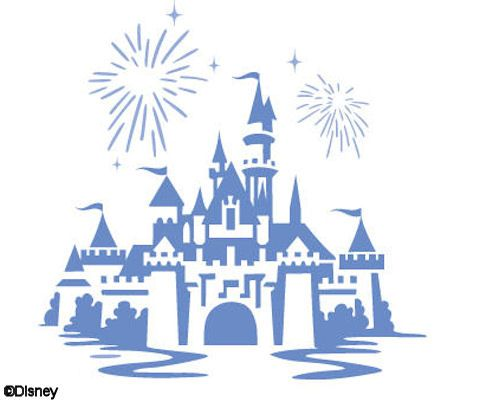 Cinderella castle disney world castle drawing discover clip art