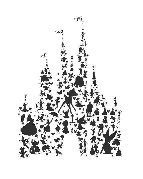 Cinderella castle ideas about disney castle tattoo on clip art