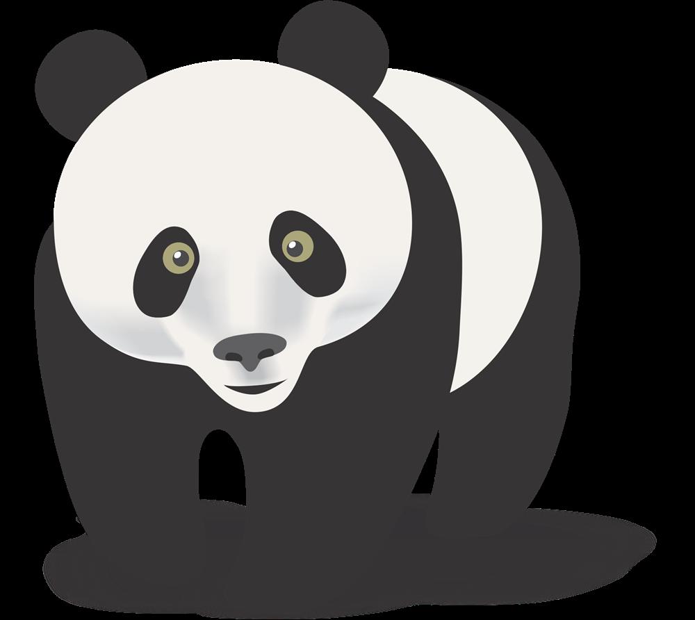 Cute panda bear clipart free images 5 2
