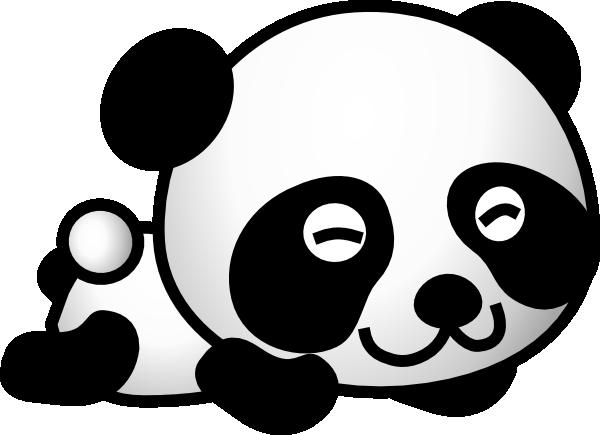Cute panda bear clipart free images