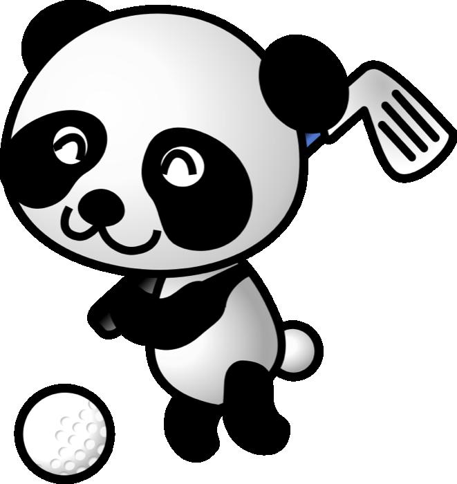 Cute panda clipart 10