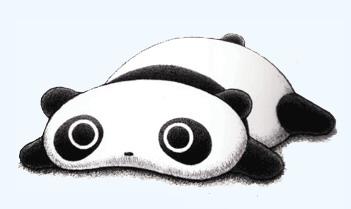 Cute panda clipart 2 image 2